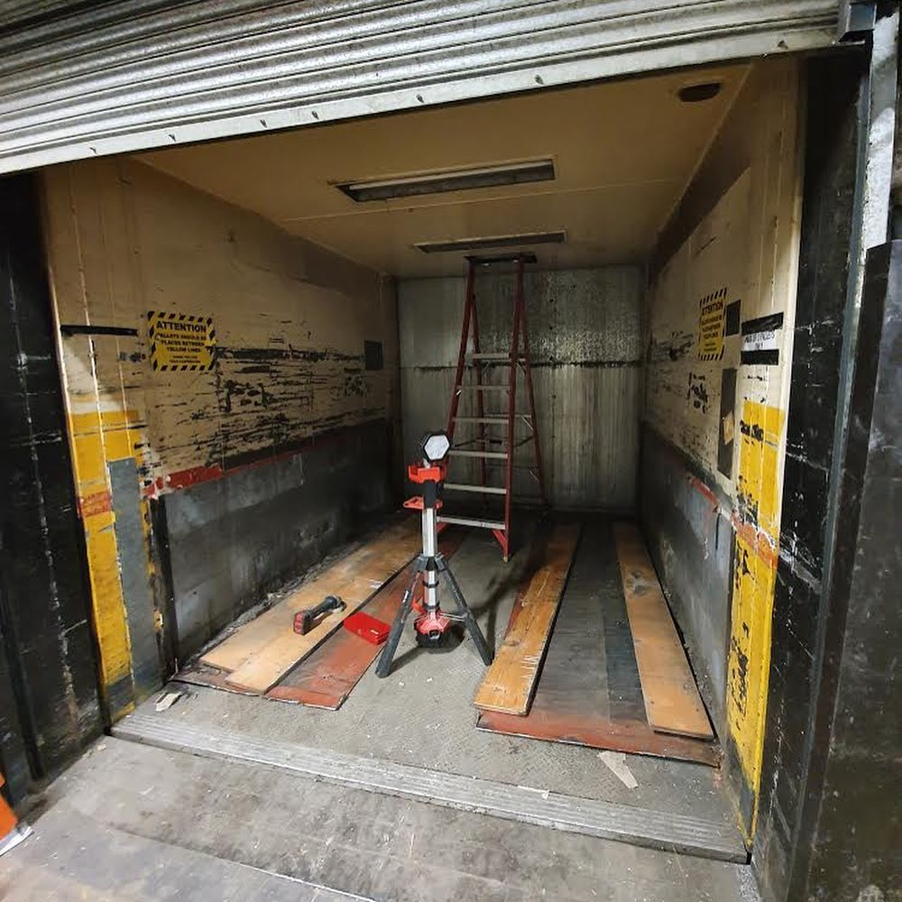 Unsafe lift removal