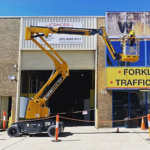 Momentum Industrial Attending EWP and Boom Lift Training